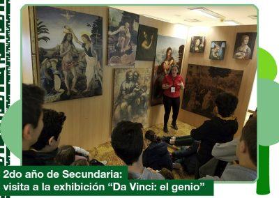 2019: «Da Vinci: el genio» (2do año de Secundaria)