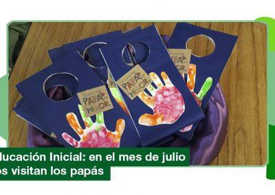Educación Inicial: nos visitan los papás