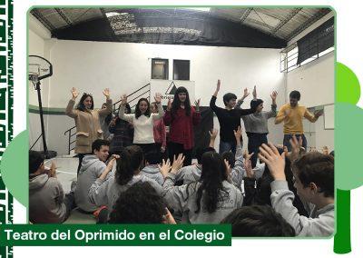 2019: Teatro del Oprimido en el Colegio