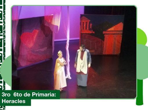 2019: 3ro a 6to de Primaria concurrió al teatro.