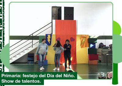 Primaria: Festejo del Día del Niño