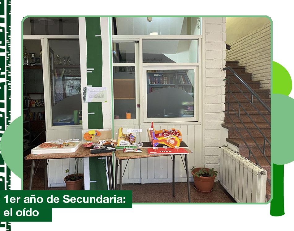 2019: 1ro de Secundaria en clases de Educación Sonora