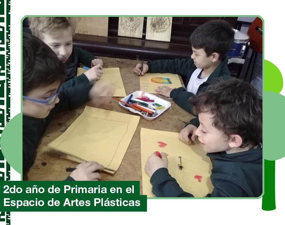 2019: 2do año de Primaria en Espacio de Artes Plásticas.