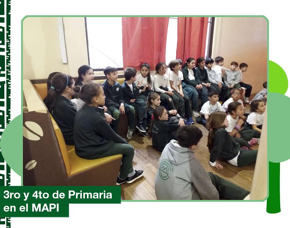 2019: 3ro y 4to de Primaria visitaron el MAPI