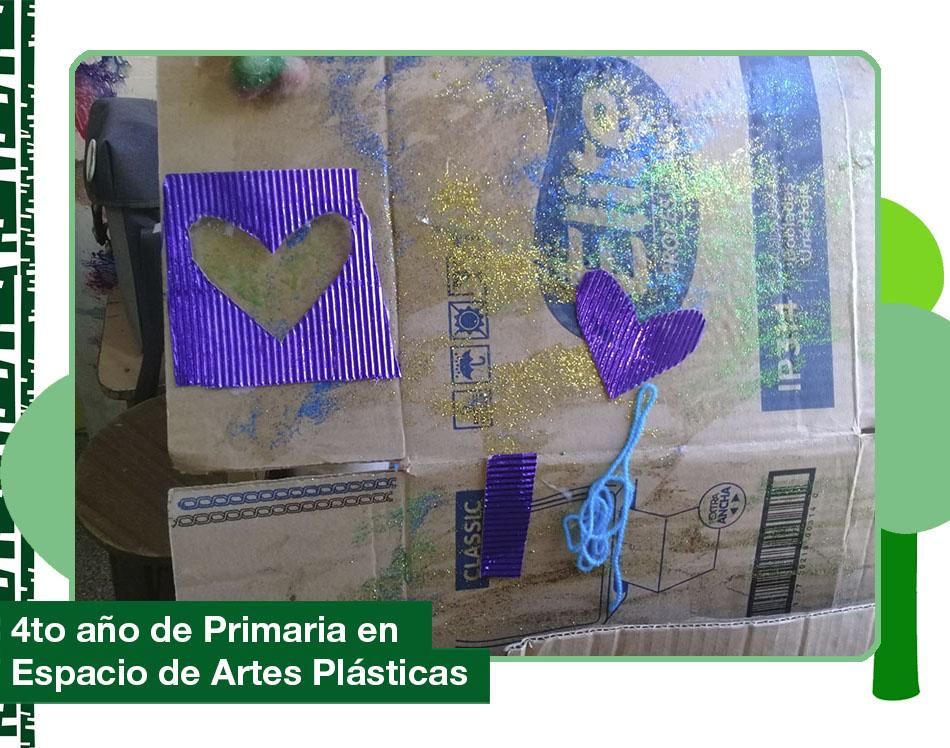 2019: 4to año de Primaria en el Espacio de Artes Plásticas.