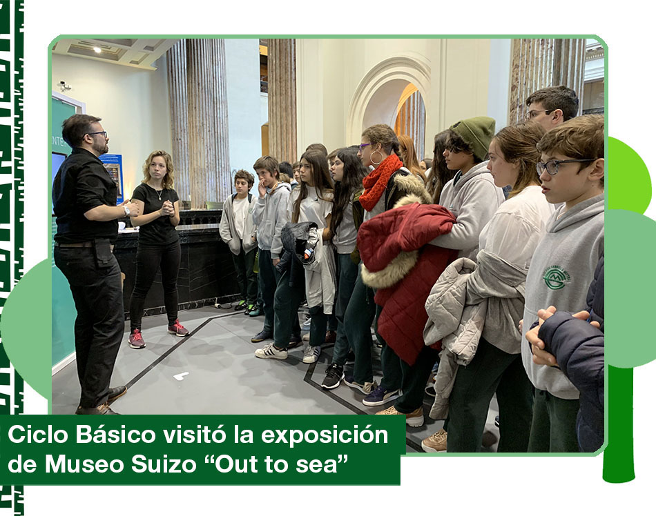 2019: Exposición del Museo Suizo «Out to sea»