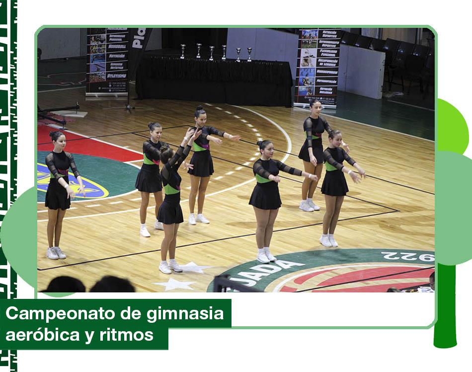 2019: Campeonato de gimnasia aeróbica y ritmos.