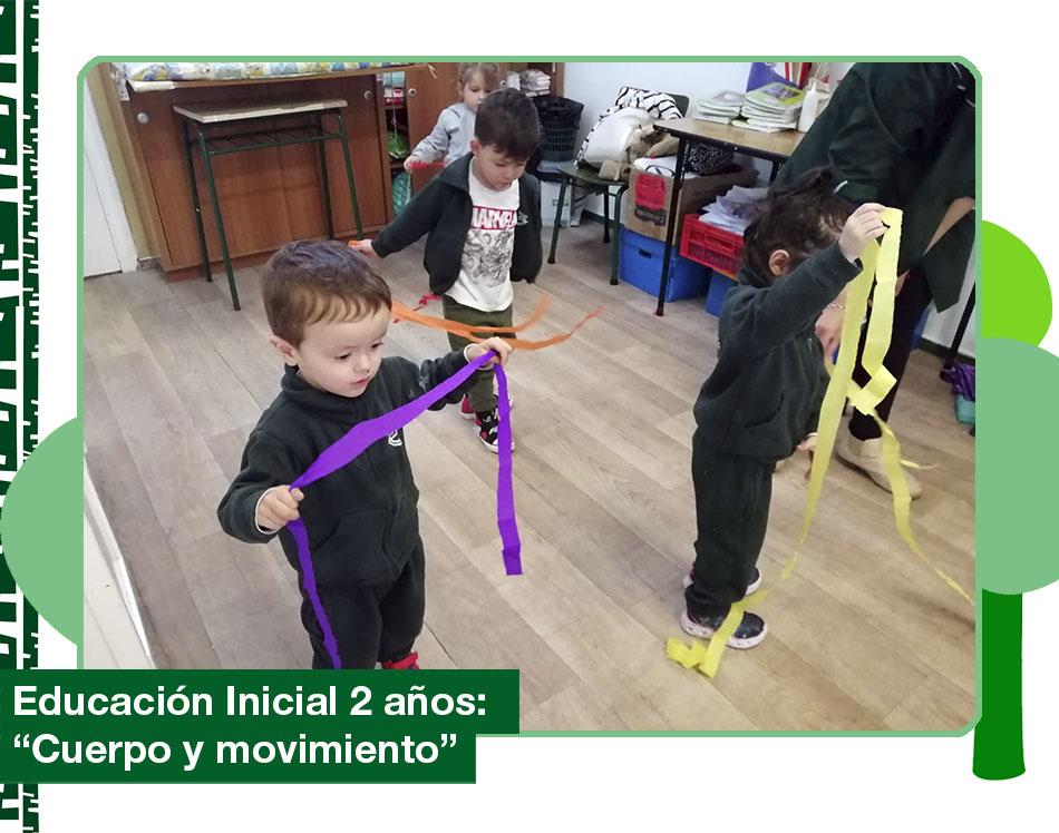 2019: Educación inicial 2 años «Cuerpo y movimiento»