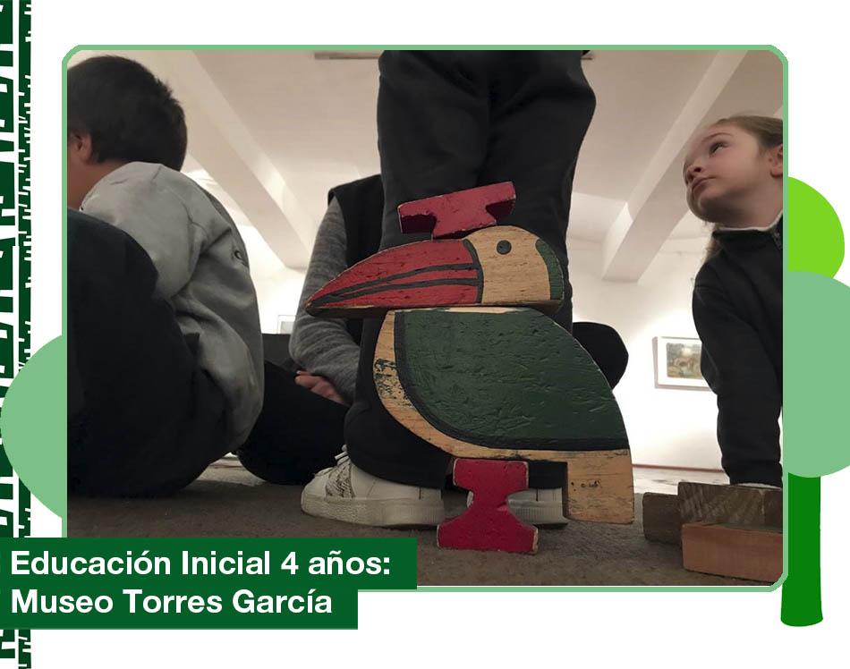 2019: Nivel 4 años visitó el Museo Joaquín Torres García