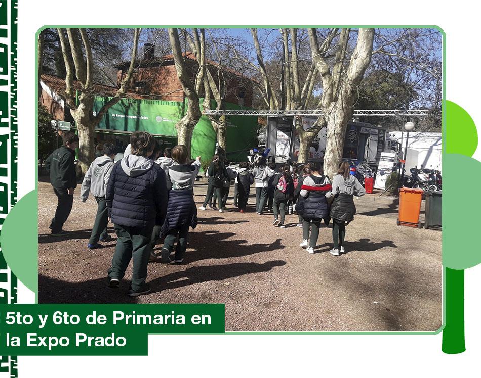 2019: 5to y 6to de Primaria en la Expo Prado.