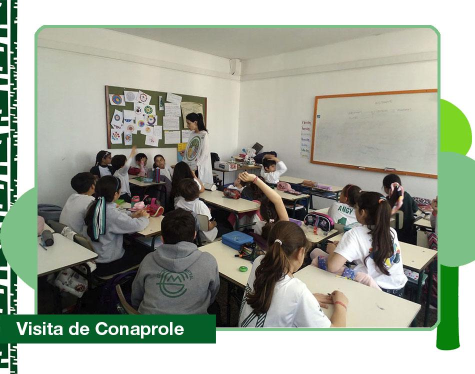 2019: Conaprole visitó el Colegio.