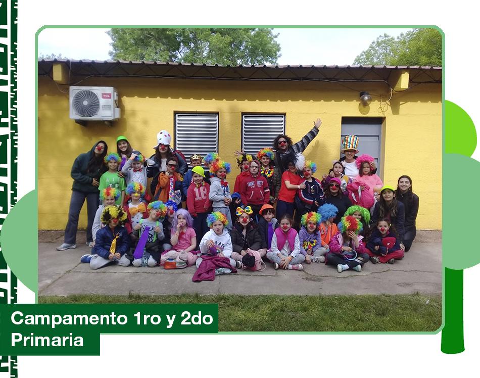 Gabriela Mistral campamento 1ro y 2do 2019 1