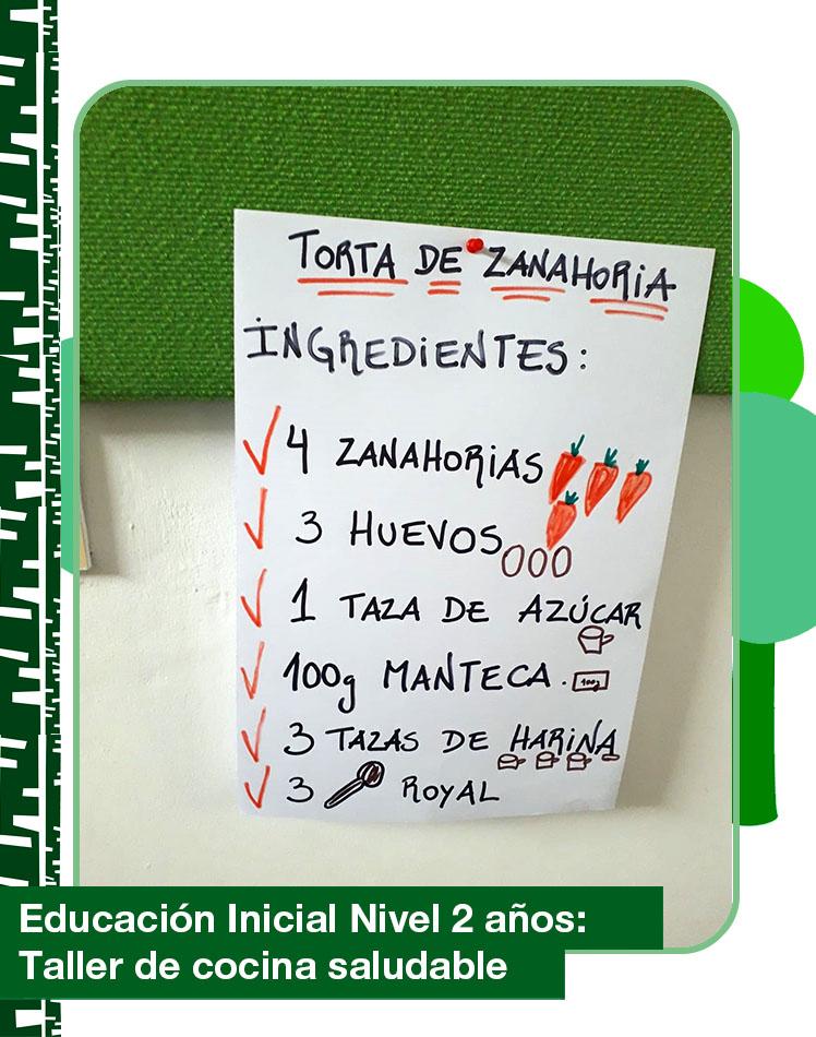 GabrielaMistral nivel 2 cocina 1