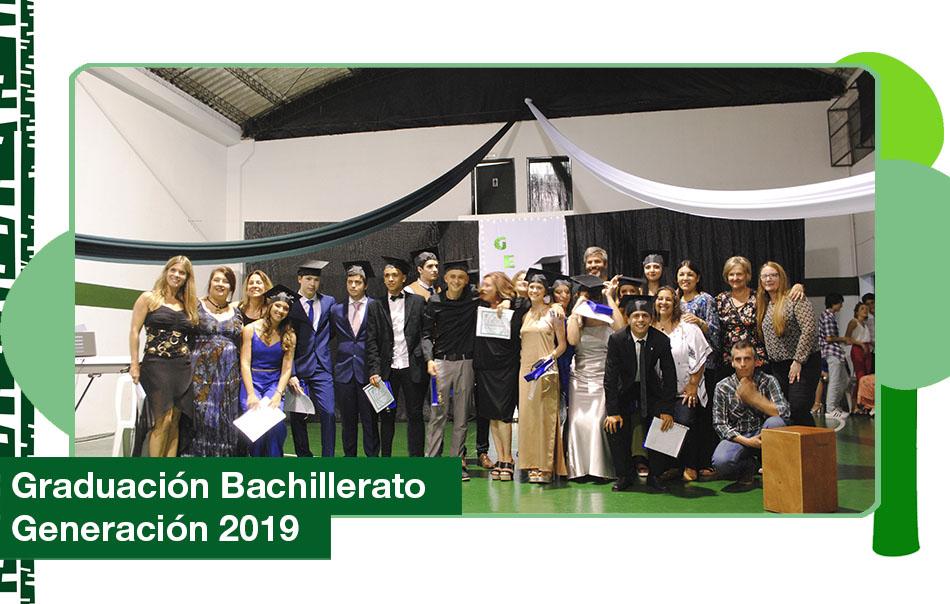Ceremonia de graduación bachiller generación 2019