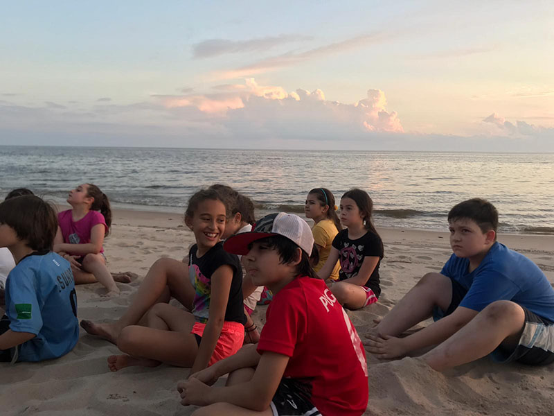 Gabriela Mistral Campamento 3ro4to 4