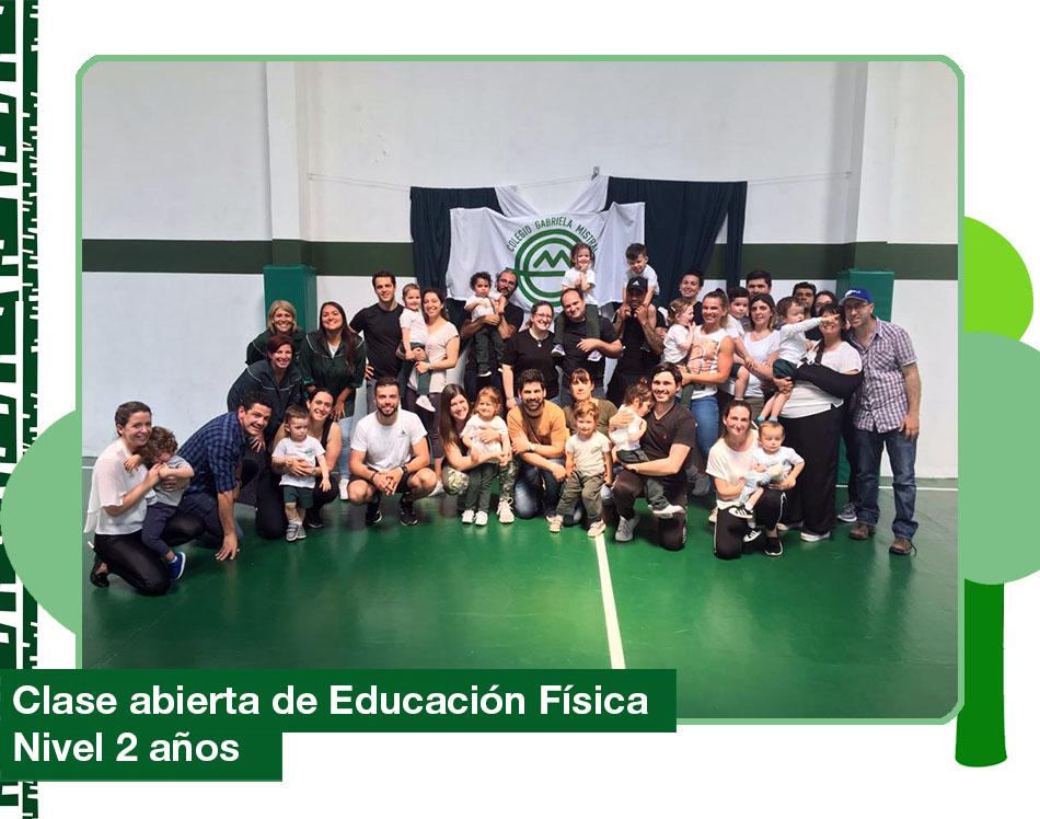 2019: Clase abierta de Educación Física de Inicial Nivel 2 años