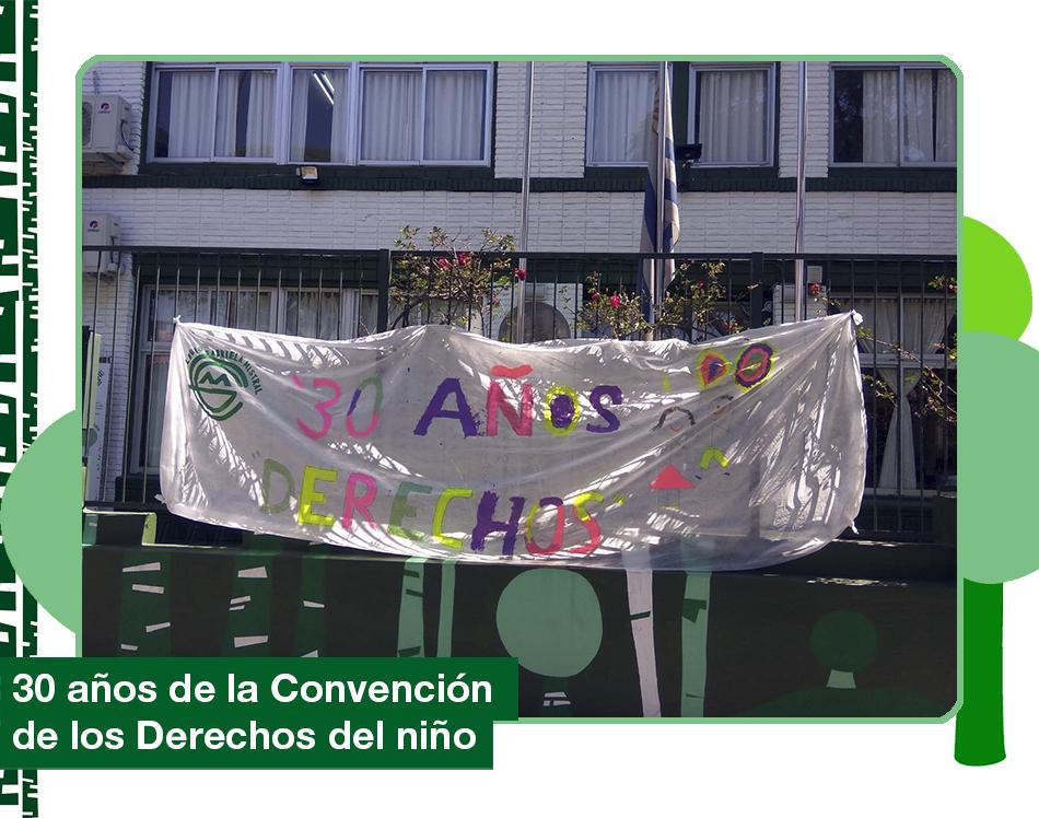 2019: 30 años de la Convención de los derechos del niño.