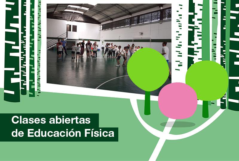 2019: Clases abiertas de educación física 2019.