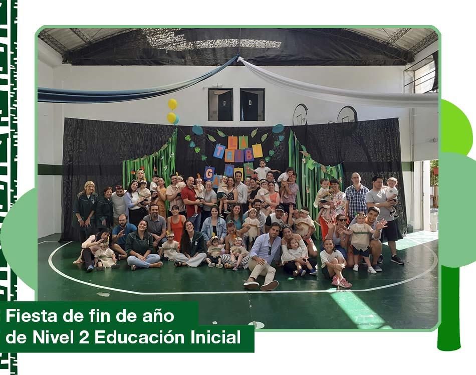 2019: Fiesta de fin de cursos Nivel 2 años