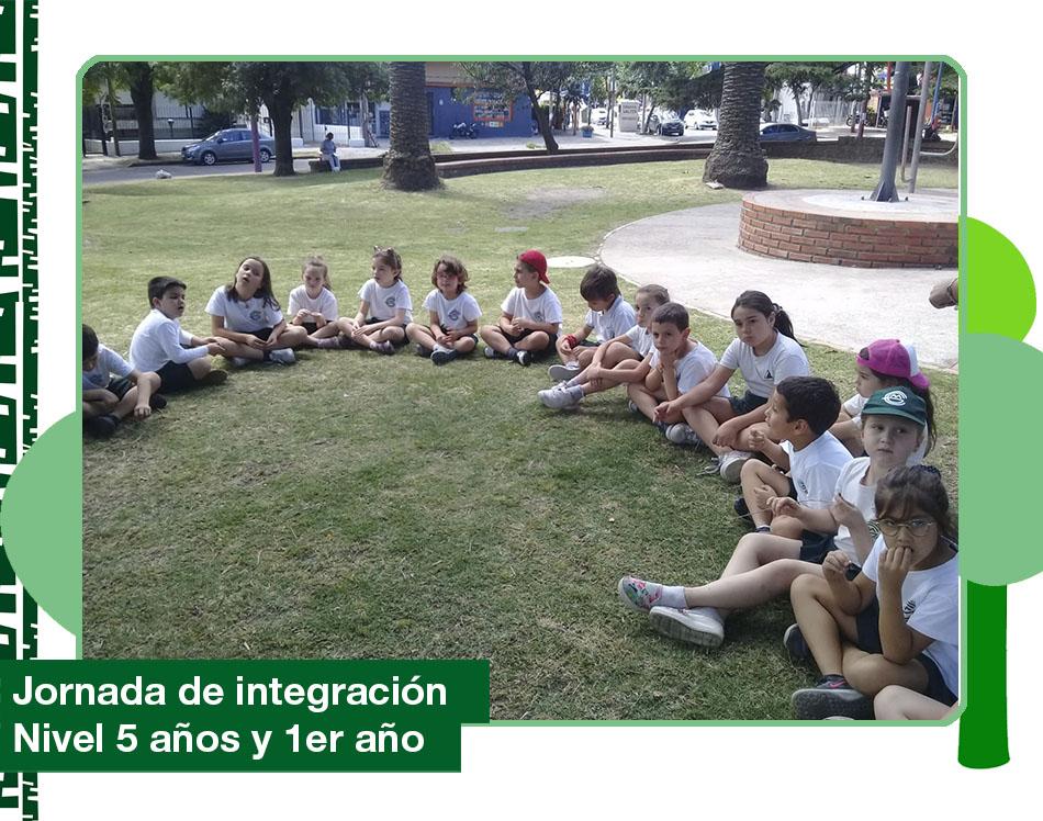 2019: Jornada de integración Nivel 5 años y 1er año