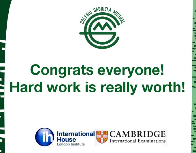 Congrats everyone!