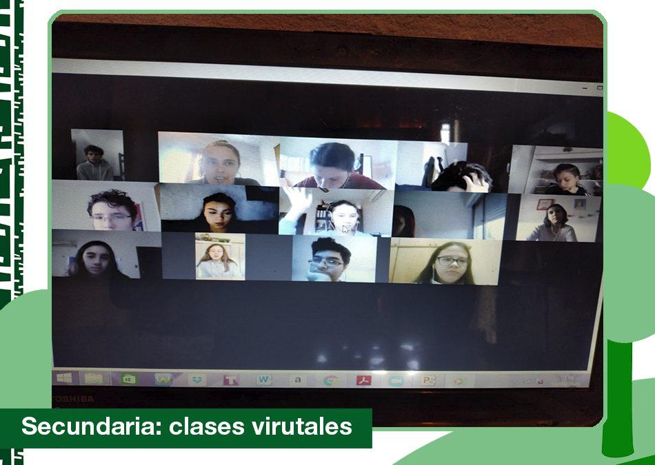 2020: Clases virtuales de Secundaria