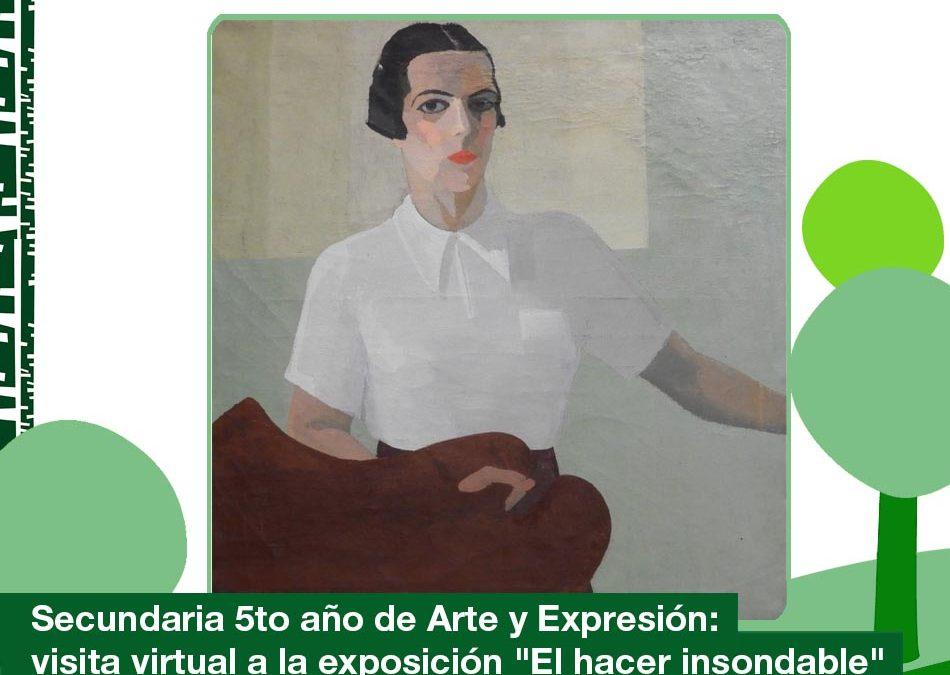 2020: Secundaria 5to Arte y Expresión
