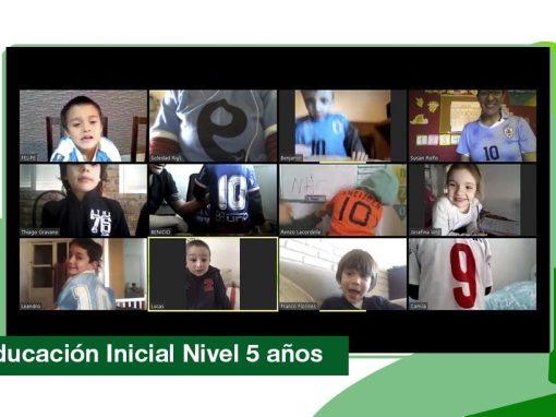 2020: Educación Inicial Nivel 5 años. Numeración