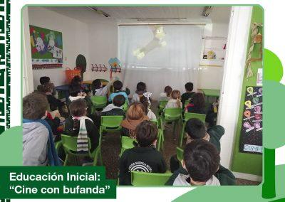 2020: Educación Inicial «Cine con bufanda»