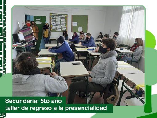 2020: 5to año de Secundaria