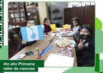 2020: 4to de primaria en el Taller de Ciencias