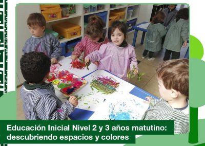 2020: Educación Inicial 2 y 3 años matutino.