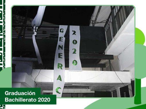 2020: Graduación de Bachillerato