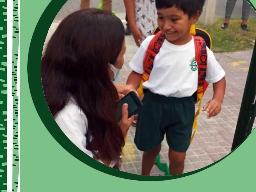 2021. Comenzó Educación Inicial. Nivel 3 y 4 años.