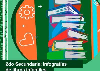2021: 2do de Secundaria realizó infografías de libros infantiles.