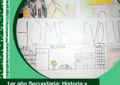 2021. 1er año de Secundaria en Historia y Educación Visual.