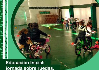 2021. Educación Inicial: jornada sobre ruedas.